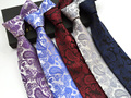 8cm NEW Luxury tie gentlemen classy formal necktie Fashion paisley ties ( 15 colors for choose)
