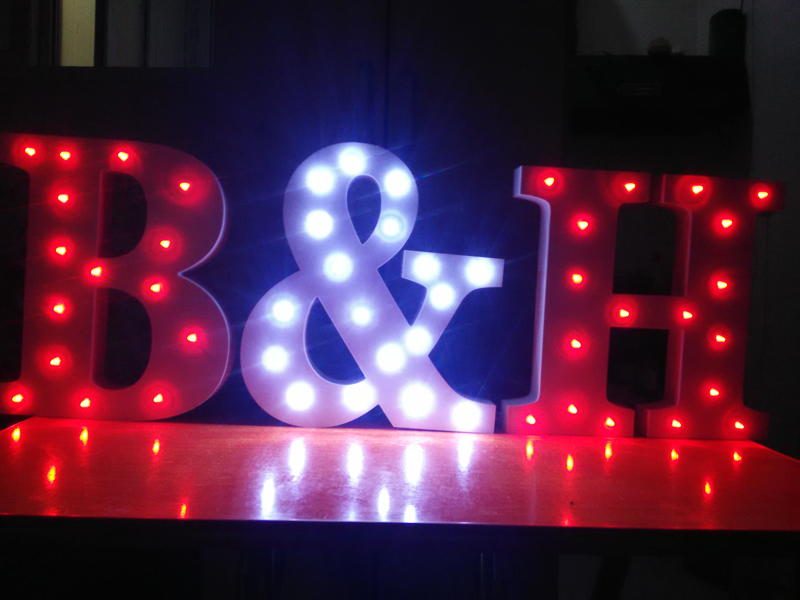 Aliexpress Com Buy Free Standing Red Light Up Letters 7