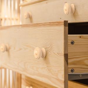 Image 2 - 10 cái/lốc Gỗ Knobs Bằng Gỗ Nội Drawer Xử Lý Tủ Quần Áo Cửa Kéo Xử Lý cho Đồ Nội Thất Caninets Tay Cầm Bằng Gỗ với các Ốc Vít