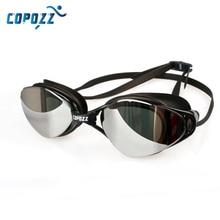 Брендовые новые профессиональные очки для плавания, противотуманные, с УФ регулируемым покрытием, для мужчин и женщин, водонепроницаемые, силиконовые очки, очки для взрослых