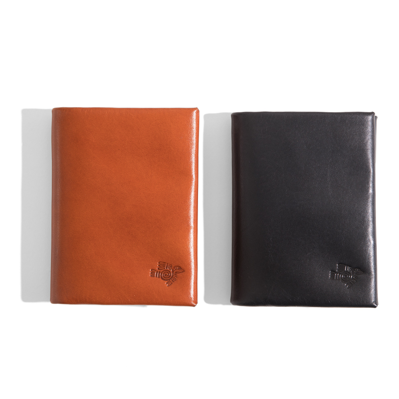 Maden Men s Bifold Genuine Cowhide Leather Fashion Wallets Gift Packaging Black Brown