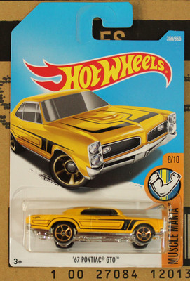 new arrivals 2018 8a hot wheels 164 golden 67th pontiac gto car models collection
