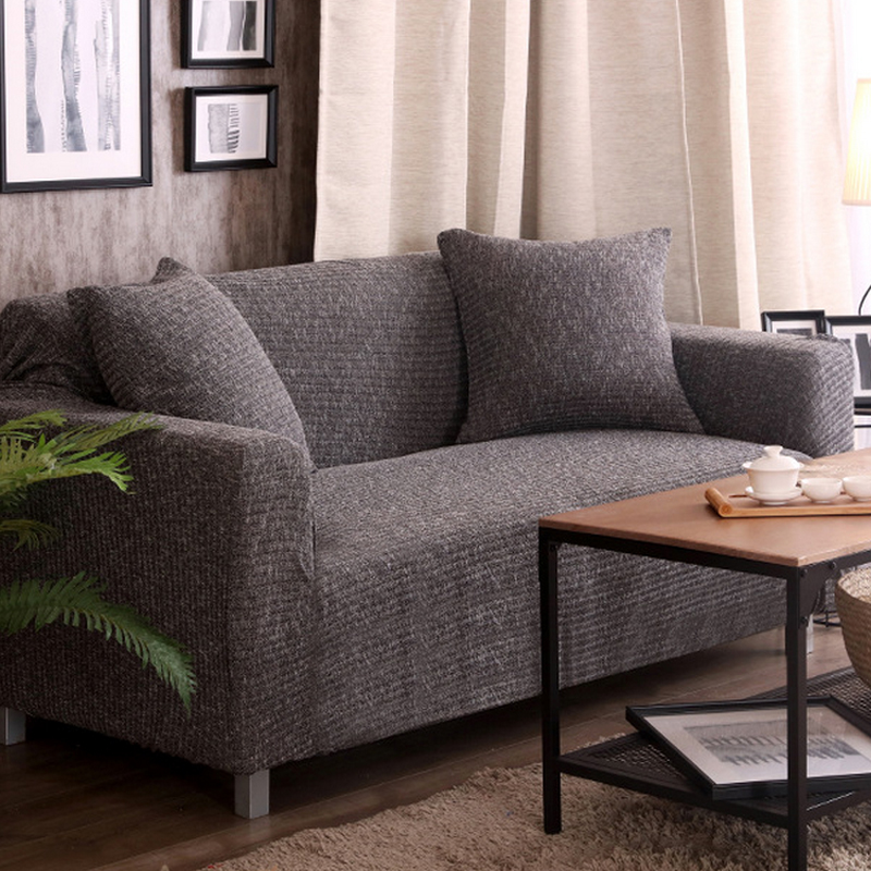 Sofa covers for living room stretch furniture slipcovers - Telas para tapizar sofas ...