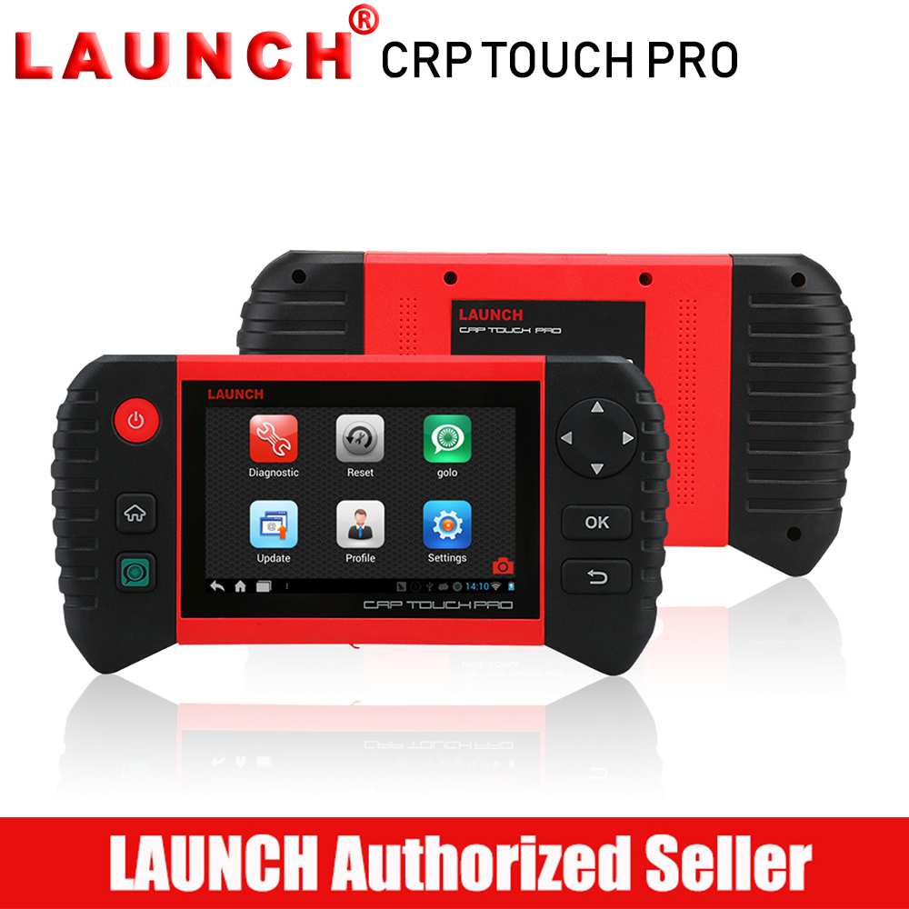 Launch Creader CRP Touch Pro OBD2 All System Auto Diagnostic Tool Car Code Reader Scanner Oil Reset SAS DPF BMS EPB Reset launch diy scanner creader 9081 full obd2 scanner scan tool diagnostic obdii oil epb bms sas dpf tpms abs bleeding cr9081