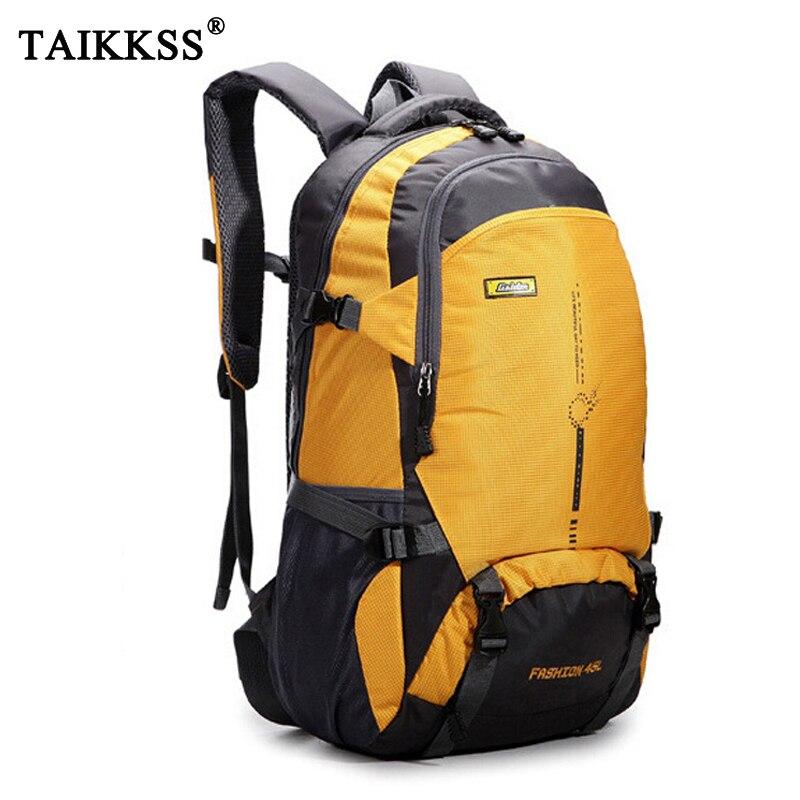 New Fashion Men Nylon Backpack Travel Bag Large Capacity Versatile Utility Mountaineering Multifunctional Backpack Luggage Bag
