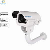 STARVIS SONY IMX327 1080P Security Intelligent LPR Camera Used in Parking Lot for Capturing License Plate Number AR MHD8801RH
