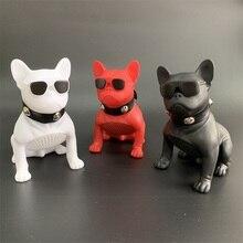 Новый беспроводной динамик Bulldog Bluetooth динамик Портативный HIFI бас динамик Многоцелевой USB AUX открытый полная собака