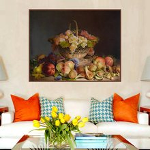 Retro Oil Canvas Painting Art Print Picture Fruits Still Life Handpainted Poster for Living Room Wall Cuadros Decor