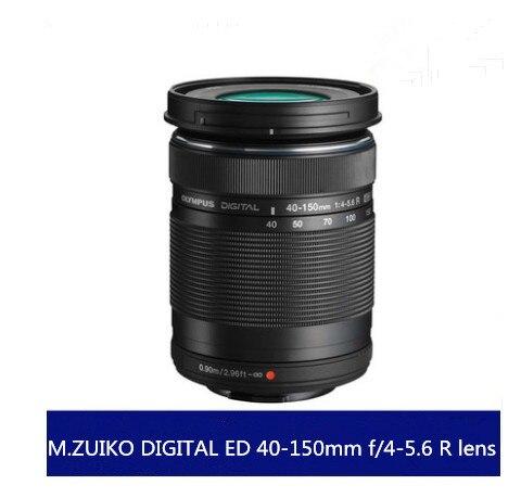 Geen doos Nieuwe M. ZUIKO DIGITAL ED 40 150mm f/4 5.6 R lens Voor Olympus E PL8 E PL7 E PL6 E PL3 E PL1 EP3 EP5 E M1 E M5 E M10 camera-in Camcorder Lenzen van Consumentenelektronica op  Groep 1