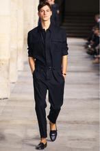 HOT Runway Look Style Men s Slim Jumpsuit Leggings Men s Tooling Pant Trousers Stage Costumes