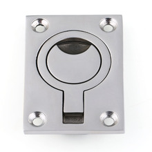 316 Marine Grade Stainless Steel Flush Pull Boat Hatches Tõstesõrmus 63x44mm Uus