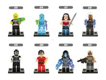 Super Heroes XINH 075-082 Electro,Bullseye Leaster,Scarlet Witch,Vision Building Blocks Sets Bricks Toys