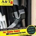 AUTO PRO Para Toyota Camry tapa tapón de La Puerta del coche del ajuste estilo 2015 2016 Para Camry Interior Molduras tapón de La Puerta pegatinas rust-