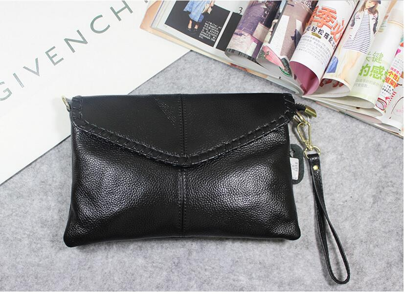 2017 genuine leather women s day clutch bag first layer cowhide small messenger bag female evening