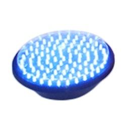 وحدة ضوء إشارة المرور 200 ملليمتر قطرها 8 بوصة الأزرق الطريق سلامة ضوء dc 12 فولت رخيصة led العنقودية