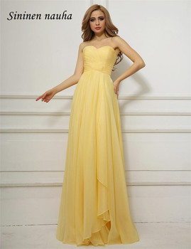 Long Evening Dresses Cheap Women Sweetheart A Line Chiffon Plus Size Prom Gown Formal Dress Vestidos De Festa Robe De Soiree 13