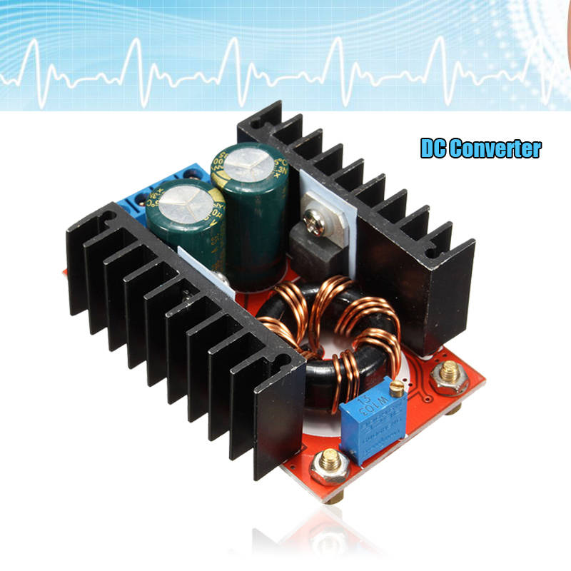 цена на 150W 6A Adjustable DC Boost Converter Step Up 10-32V to 12-35V Voltage Charger Module Power Supply Inverters Converter