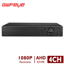 GWFEYE 4-КАНАЛЬНЫЙ Гибридный Full HD 1080 P Видео DVR Рекордер 5 в 1 Для IP CVI TVI AHD CVBS камеры