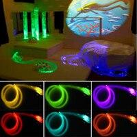 Comprar Equipo de habitación sensorial con seguridad, luces laterales de fibra óptica brillante para niños con control remoto