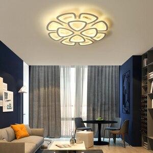 Image 3 - חדש led נברשת לסלון חדר שינה נברשת בית על ידי sala מודרני Led תקרת נברשת בית תאורת נברשת