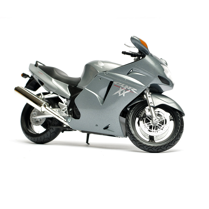 Motorcycle Models CBR 1100XX Grey 1:12 scale Alloy metal diecast models motor bike miniature race Toy For Gift Collection
