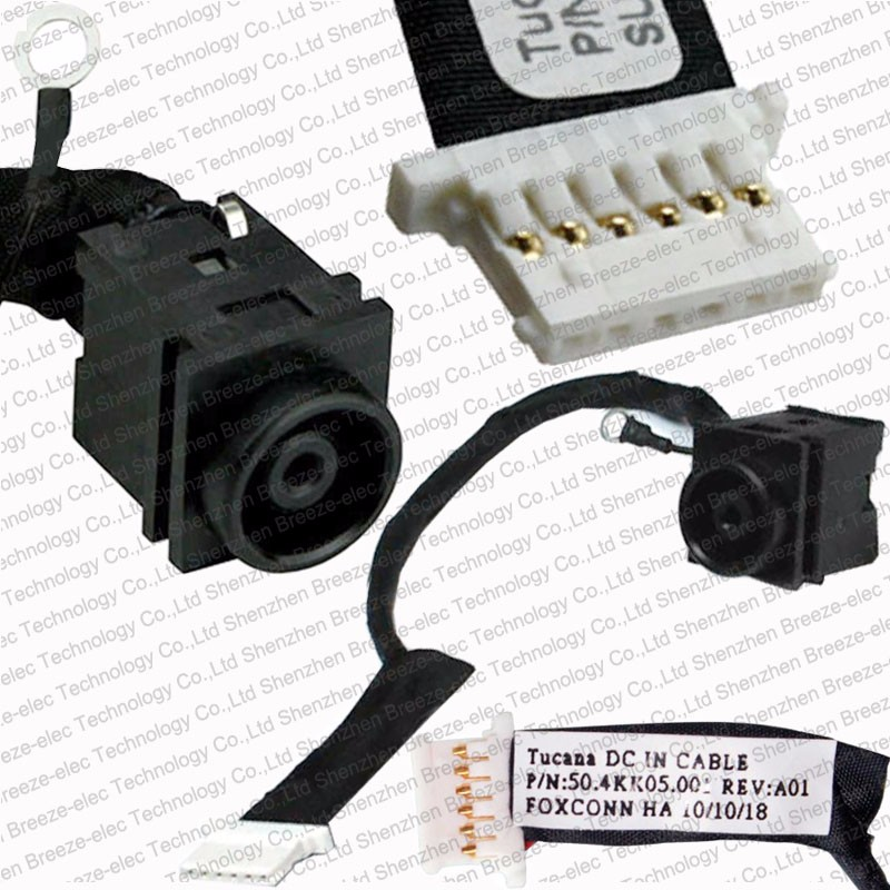 Original New Laptop DC Power Jack socket cable connector WIRE for Sony Vaio VPC YA YB VPCYA VPCYB VPC-YA VPC-YB 50.4KK05.001 new dc power jack socket connector wire harness for laptop dell inspiron 15 3558 5455 5000 5555 5575 5755 5758