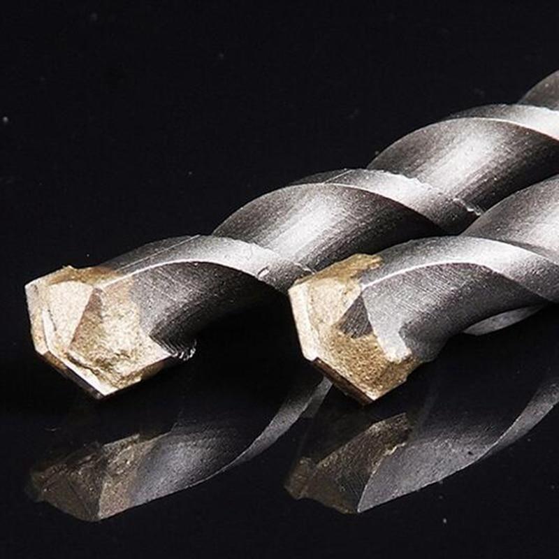 3 pezzi lunghi 150mm 6/8 / 10mm piastrelle trapano cemento cemento - Punta da trapano - Fotografia 2