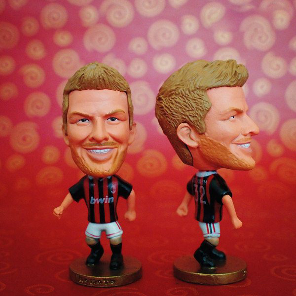 Soccer Player Star 32# BECKHAM (AC-Classic) 2.5 Toy Doll Figure