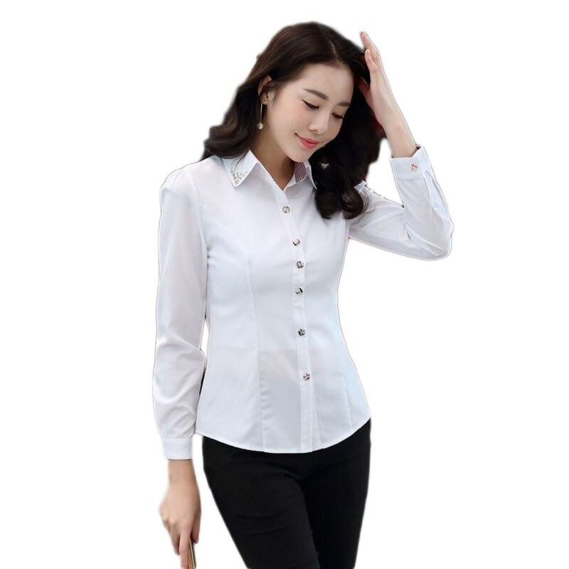Chemise femme 2019 kimono décontracté chemise à manches longues Slim femme affaires sociales chemise femmes vêtements