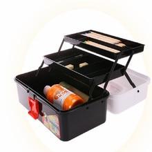 waterproof folding paint rack draw organizer art supplies storage paint storage pencil storage box FREE SHIPPING printio free draw
