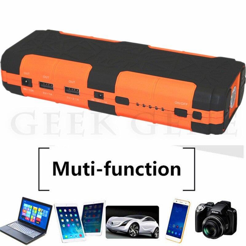 20000mAh Mini Petrol Diesel Starting Device 12V Car Jump Starter Portable Car Starter Charger for Car Battery Booster Lighter цены