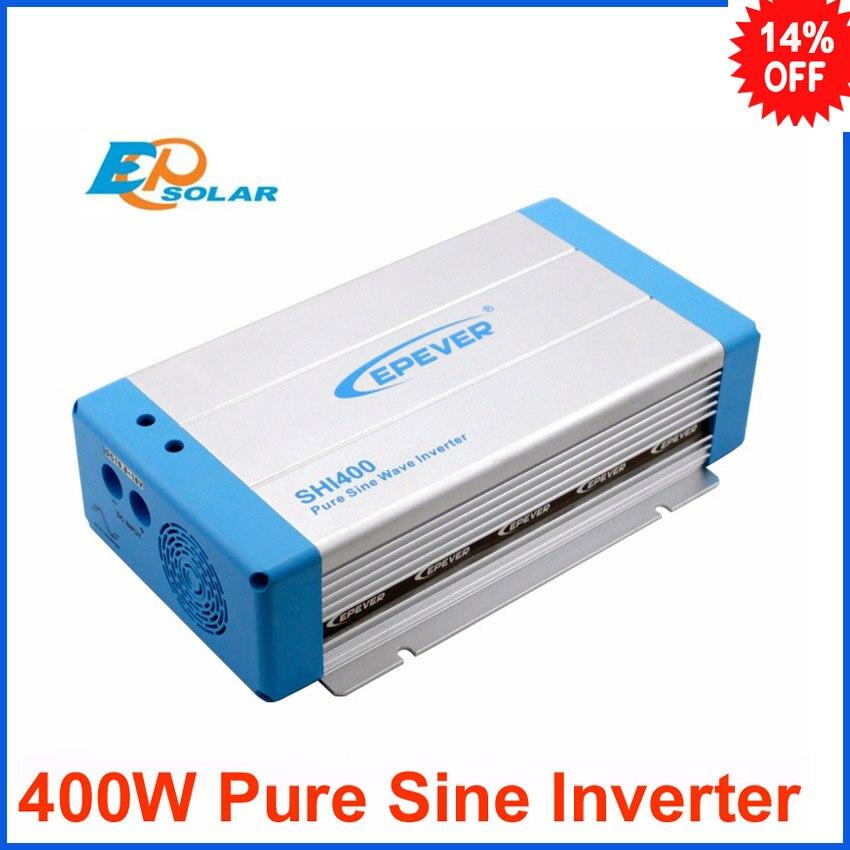 400w inverter of EPsolar EPEVER brand SHI400 12v 24v  DC input to 220v 230v ac output pure sine wave 50Hz/60Hz