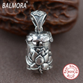 New Special 100% Real Pure 925 Sterling Silver Jewelry Vintage Pendants Charms for Necklaces for Women Accessories SY10705