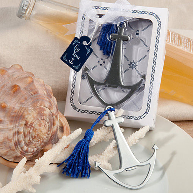 Bottle opener Bomboniere useful Sea Theme Nautical Boat Sails Anti-Aging Vintage