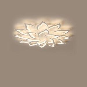 Image 5 - Современные светодиодные потолочные лампы, светильники для столовой, гостиной, украшения дома, лампа для спальни, ресторана, Диммируемый блеск