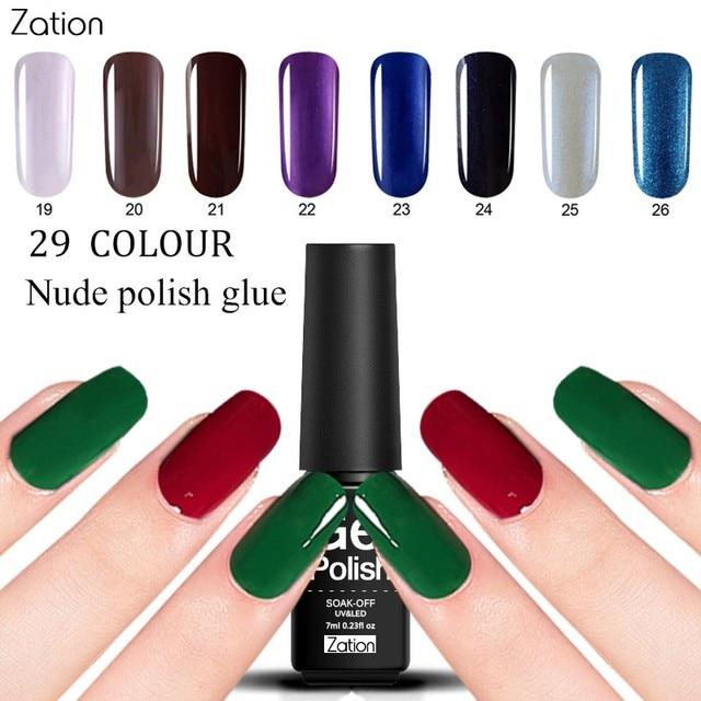 Zation Nail Art Products Manicure Profissional Color Semi Permanent ...