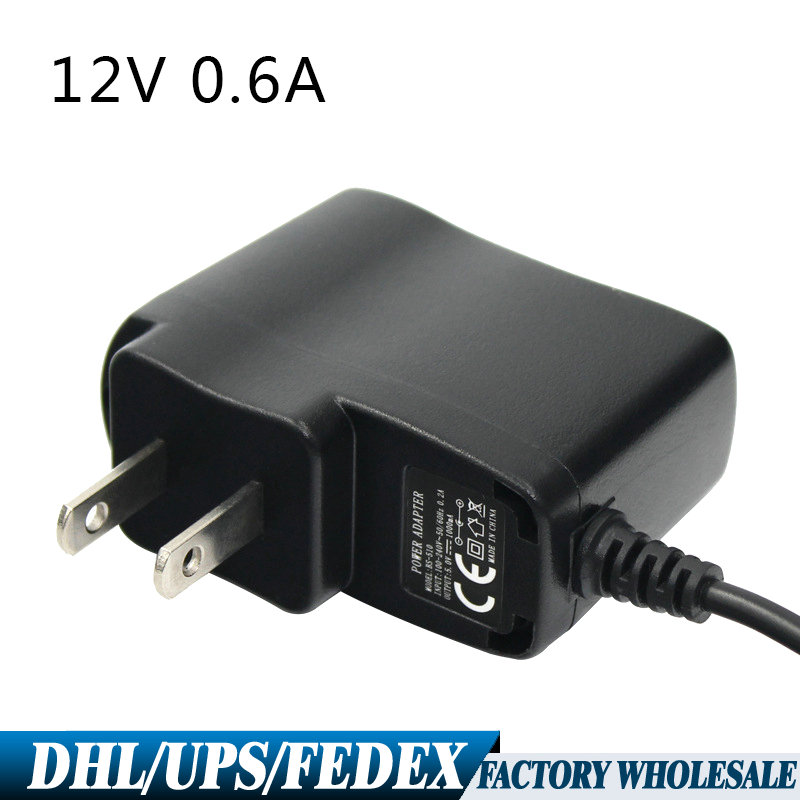 US $101 0  Free DHL Fedex 50PCS US Plug Power Adapter 12V0 6A Vertical  Charging Router Chargers Supply Adapter-in AC/DC Adapters from Consumer