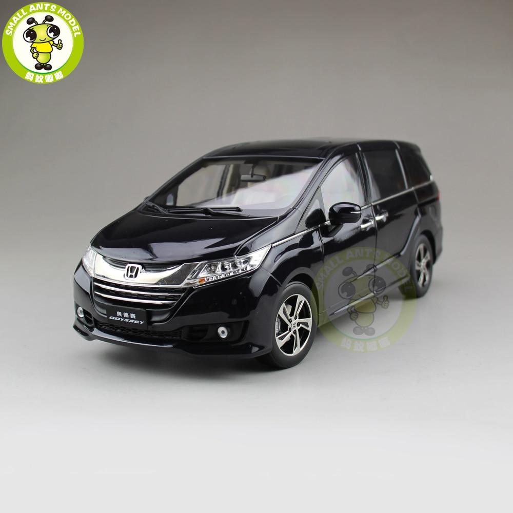 1/18 Honda MPV Odyssey коммерческих литая машинка из металла MPV автомобиль внедорожник модели игрушки для мальчиков и девочек подарок коллекция хобб