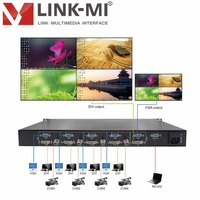 LINK MI LM SD41 Full HD Video 1080p 4x1 DVI VGA BNC HD Video Synthesizer Processor