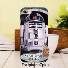 Robot Star Wars Luxury High-end phone Accessories For case iPhone 7 plus