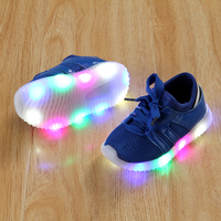 2018 Fashion Glowing Sneakers For Children Kids Light Shoes LED Lgihting Sneaker Sport Cool Boys Girls