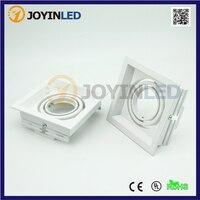 2pcs White Color 360 Degree Adjustable Halogen Bulbs GU10 MR16 GU5 3 Led Spotlight Lamp Covers