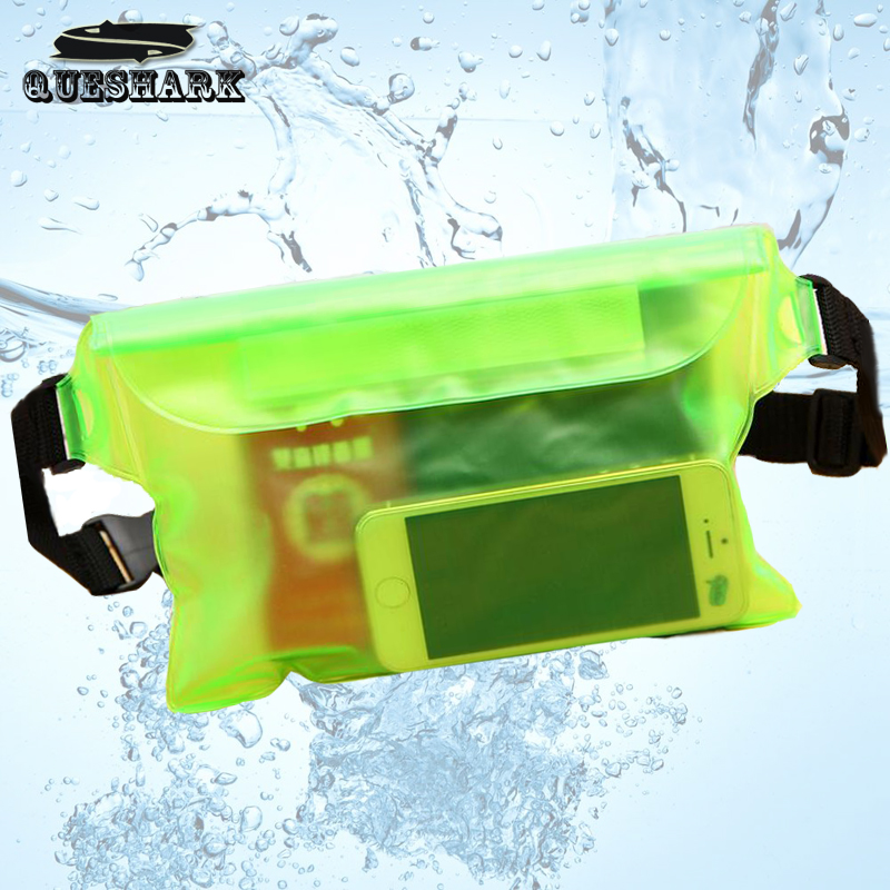 <font><b>Waterproof</b></font> Drift Diving Swimming Bag Underwater Dry Shoulder Waist Pack Bag Pocket Pouch for iphone 7 8 XR Xs case cover/camera image