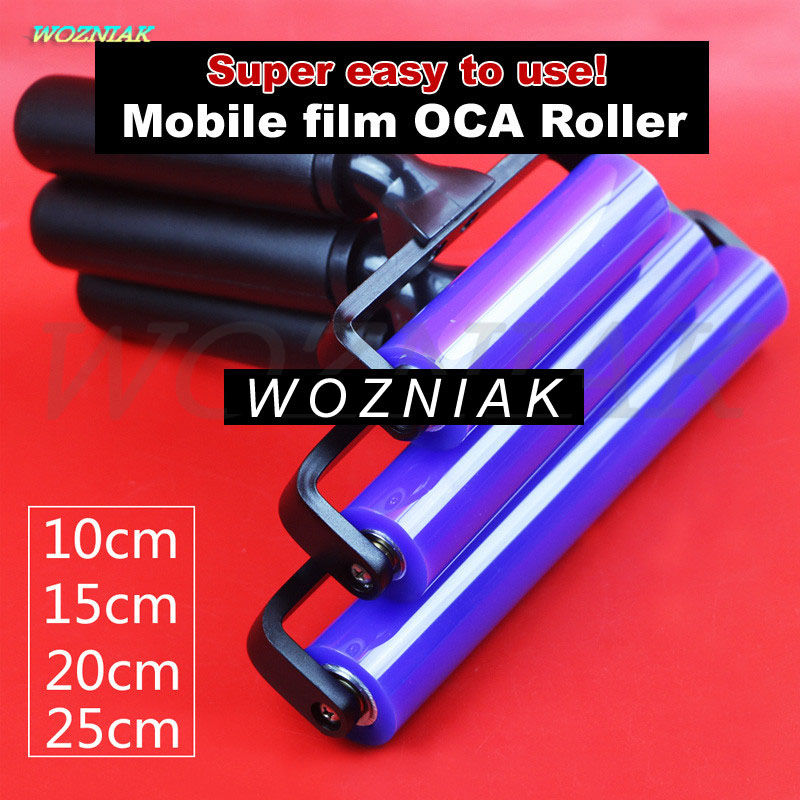 First-class Mount OCA Self-adhesive Polarizer Soft silicone roller Film Self-adhesive Roller for iphone ipad samsung tools
