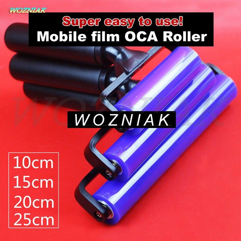 First-class Mount OCA Self-adhesive Polarizer Soft Silicone Roller Film Self-adhesive Roller For Iphone Ipad Samsung Tools