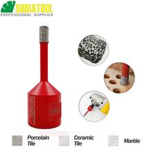 SHDIATOOL 1pc M14 Vacuum Brazed Diamond Drilling Core Bit Tile Drill Marble Hole Saw Porcelain Bell Crown