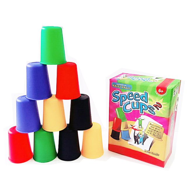 Classic Card Games Speed Cups Cards Game Family And Children Board