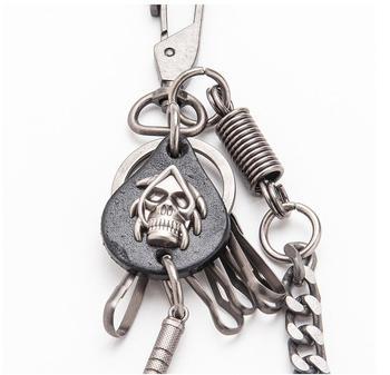 Skull Sword Biker Jeans Chain 1