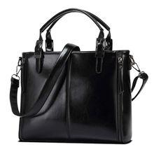 Women Luxury PU Leather Handbags Shoulder Messenger Bag Satchel Tote Bags Womens Purse  sac