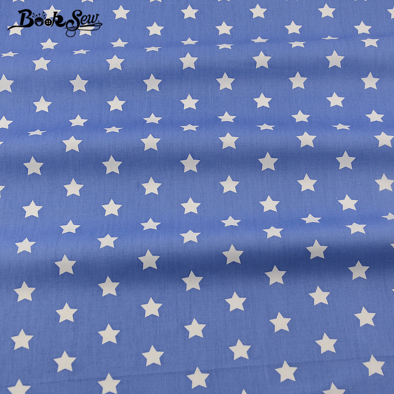 Booksew 2017 Star Design Material Bed Sheet Quilting Patchwork Bedding  Clothing Home Textile Blue Cotton Fabric Twill Quarter In Fabric From Home  U0026 Garden ...